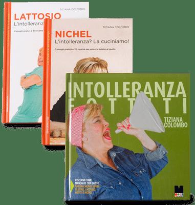 3 Libri sulle intolleranze
